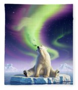 Arctic Kiss Fleece Blanket