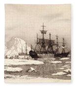 Arctic Ocean Fleece Blanket