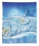 Arctic Seal Fleece Blanket