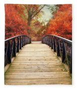Ardent Autumn Fleece Blanket