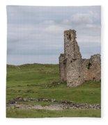 Ardvrek Castle 0947 Fleece Blanket