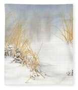 Are You Coming Or What? Fleece Blanket
