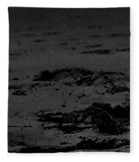 Area Sweep Bw Fleece Blanket