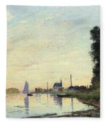 Argenteuil, Late Afternoon Fleece Blanket