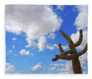 Arizona Blue Sky Fleece Blanket
