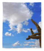 Arizona Blue Sky Fleece Blanket