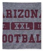 Arizona Cardinals Retro Shirt Fleece Blanket