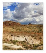 Arizona Cliffs Fleece Blanket