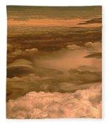 Arizona Cloudscape II Fleece Blanket