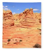 Arizona Desert Pastels Fleece Blanket