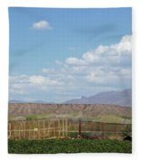 Arizona Farming Fleece Blanket