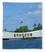 Arizona Memorial Fleece Blanket
