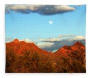 Arizona Moon Fleece Blanket