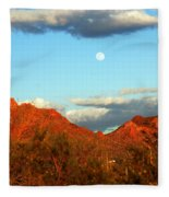 Arizona Moon Fleece Blanket
