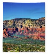 Arizona Rest Stop Fleece Blanket