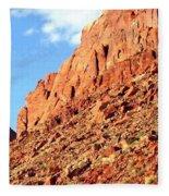Arizona Sandstone Fleece Blanket