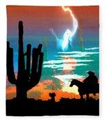 Arizona Skies Fleece Blanket