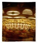 Arizona State Fair Carousel October 26, 2017 Fleece Blanket