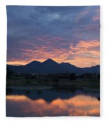 Arizona Sunset 2 Fleece Blanket