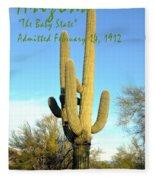 Arizona The Baby State Fleece Blanket