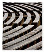 Arlington Cemetery Amphitheater Benches #2 Fleece Blanket