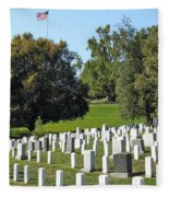 Arlington National Cemetery Fleece Blanket