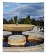 Arlington National Cemetery Memorial Fountain Fleece Blanket