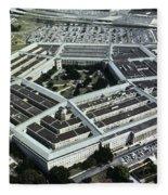 Arlington: Pentagon Fleece Blanket