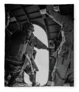 Army Airborne Series 3 Fleece Blanket