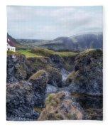 Arnastapi - Iceland Fleece Blanket