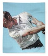 Arnold Palmer- The King Fleece Blanket