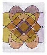 Arrangement Of Forms Fleece Blanket