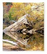 Arrow Rock Fleece Blanket