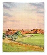 Arrowhead Golf Course Colorado Hole 3 Fleece Blanket