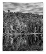 Arrowhead Provincial Park Bw Fleece Blanket