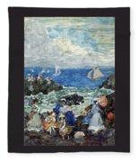 art 032 Maurice Prendergast Fleece Blanket