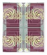 Art Deco Fleece Blanket