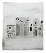 Art In The Casbah Fleece Blanket