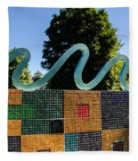 Art In The Park - Louis Armstrong Park - New Orleans Fleece Blanket