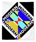 Art Modern Fleece Blanket