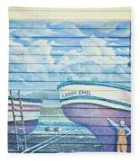 Art On The Bayfront 1 Fleece Blanket