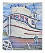 Art On The Bayfront 2 Fleece Blanket