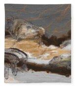 Art Rupestre Fleece Blanket