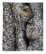 Art Within A Tree Fleece Blanket