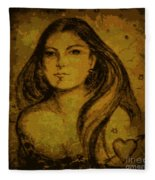 Artemis Who Fleece Blanket