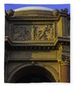 Artful Palace Of Fine Arts Fleece Blanket