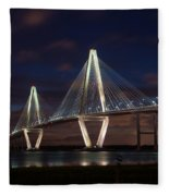 Arthur Ravenel At Night Fleece Blanket
