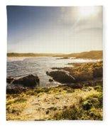 Arthur River Tasmania Fleece Blanket