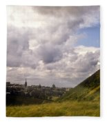 Arthurs Seat Edinburgh Fleece Blanket