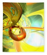 Articulate Design Abstract Fleece Blanket